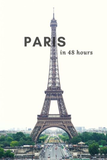 How to Spend 48 Hours in Paris, France
