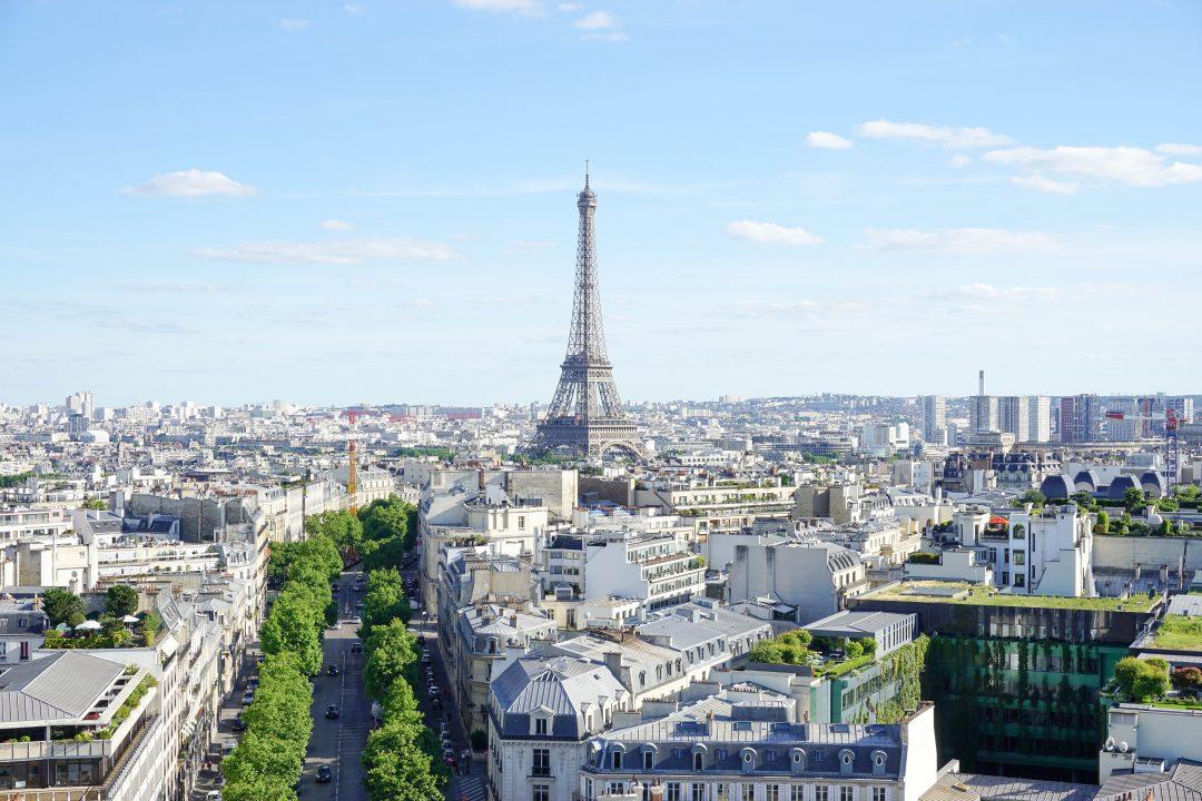 Arc de Triomphe views