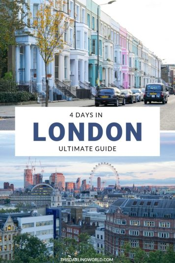 Your Ultimate Guide to an Amazing 4 Days in London