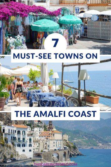 Amalfi Coast Towns: Day Trips From Positano