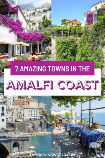 Amalfi Coast Towns: The Best Day Trips From Positano