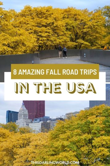 Fall Road Trips in the USA
