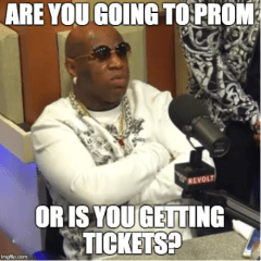 Prom Night…Two Weeks Away