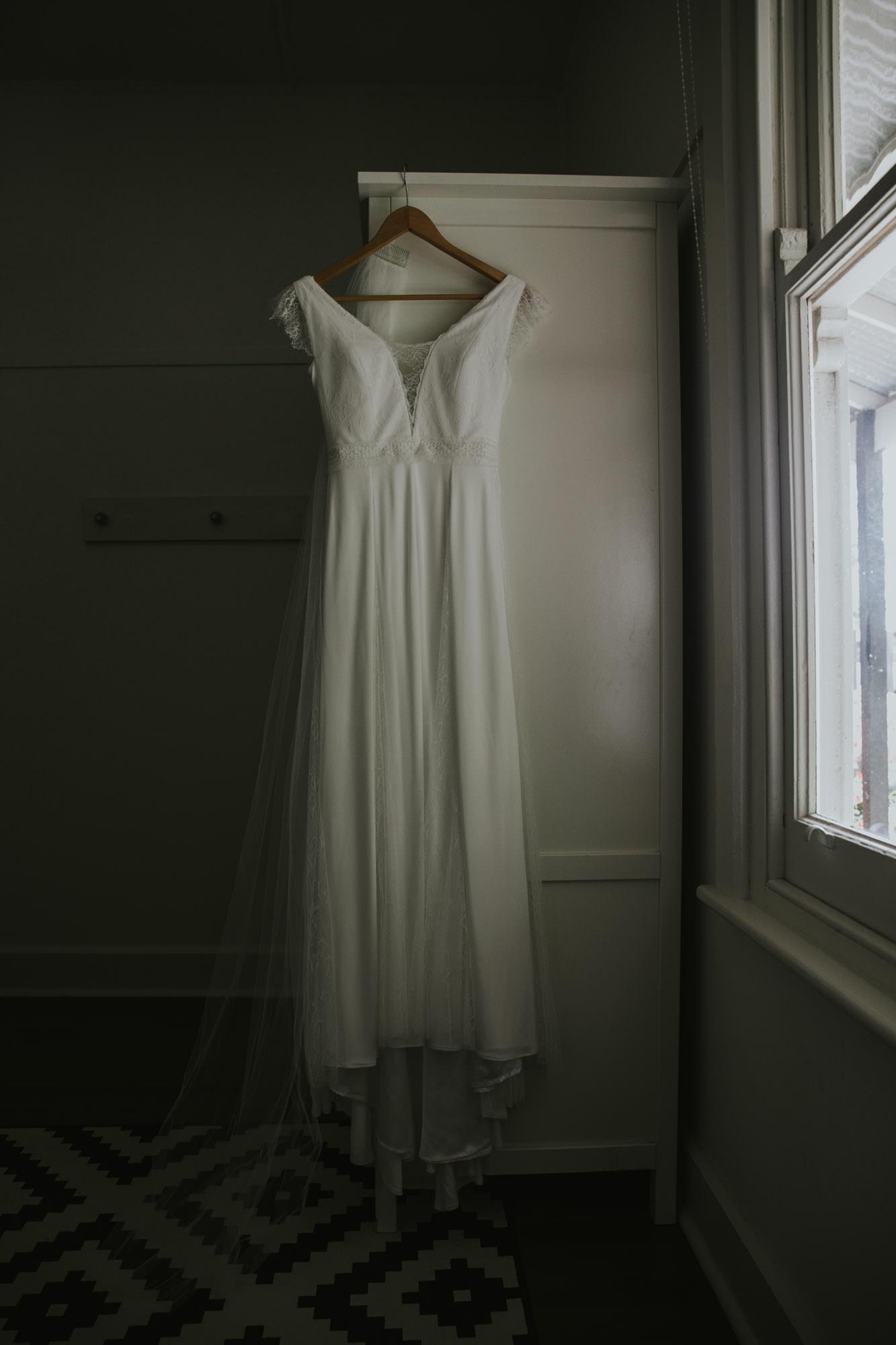 red hill wedding, wedding dress