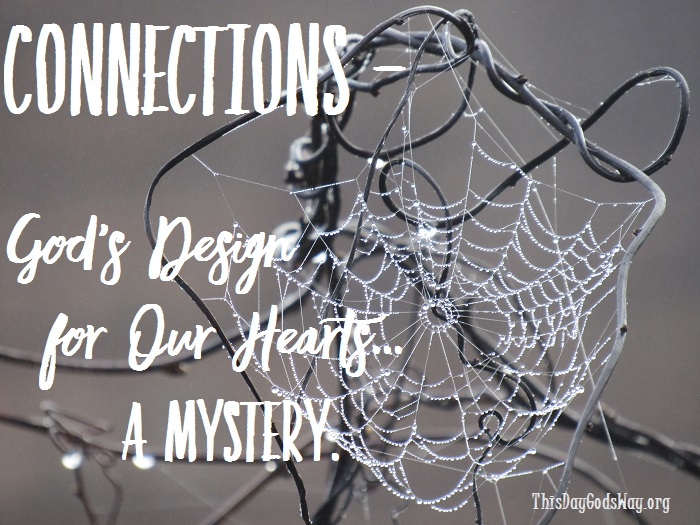 Connections – We Want 'Em, We Crave 'Em – But, Do We Know What They Look Like?