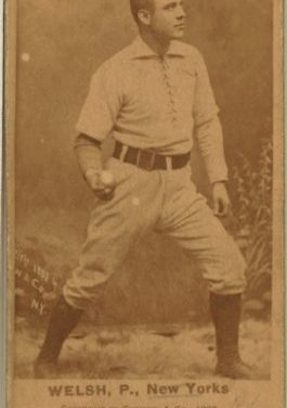 On his birthday, Mickey Welch throws two complete game victories when Troy sweeps a doubleheader from the Bisons