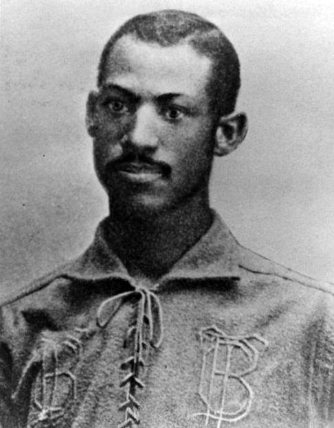 "In a Northwestern League meeting, Peoria moves to ban black players in order to prevent Toledo from playing star catcher Moses Fleetwood Walker. After an ""exciting discussion"" the motion is withdrawn and Walker is allowed to play."