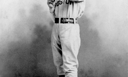 The first known immaculate inning pitched by JOHN CLARKSON