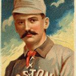 King Kelly, probably the most popular baseball player of the 19th century, dies of pneumonia in Boston, MA.