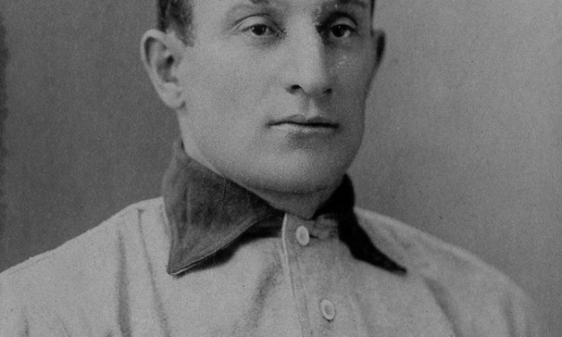 Pirate Honus Wagner steals second base, third base and home in the 7th inning