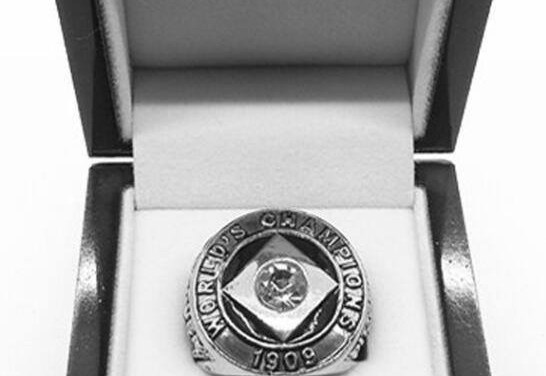 The National Commission prohibits giving mementos to players on winning World Series teams. This will later be reversed, making way for the traditional winners' watches, rings, and stickpins.