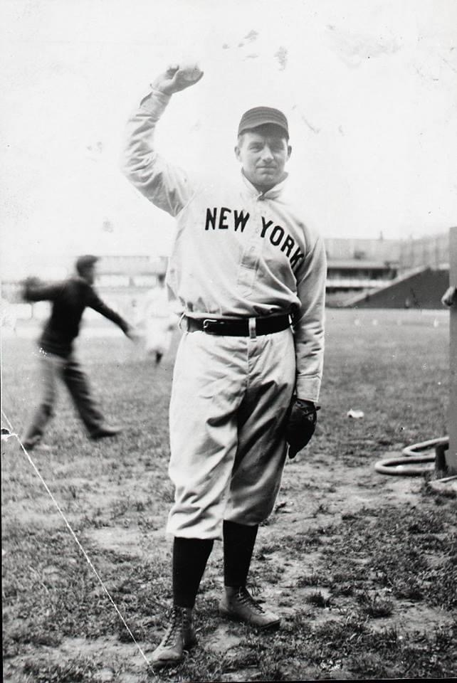 August 8, 1903 - The New York Giants' Joe McGinnity repeats his feat from August 1st, when he defeats the Brooklyn Superbas in both ends of a doubleheader, 6 - 1 and 4 - 3. A week earlier he beat the Boston Beaneaters, 4 - 1 and 5 - 2. McGinnity also is credited with a steal of home in the second game while Brooklyn is arguing a disputed call at third base. Brooklyn P Henry Schmidt is so upset about the steal that he throws the ball out of the park' a toss that gets him tossed from the game. On August 31st' Iron Joe will beat the Phillies twice. He has now done double work five times' including two losses on each of the two occasions at Baltimore in 1901. The combination of his 434 innings pitched and 31 wins' with Christy Mathewson's 366 innings pitched and 30 wins' will make them the century's most productive one-season duo.