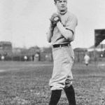 1903 - New York's Christy Mathewson and Brooklyn's Bill Reidy hook up for the third time in a week, and the rubber game ends in a tie, 4 - 4. The match is called by ump Tim Hurstafter eight innings because of darkness.