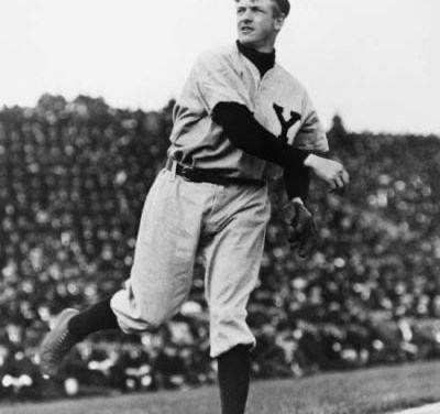 1905– TheGiantsbeat up on theRedsagain, winning 2 – 0 and 6 – 5. New York scores four runs in the nitecap onwild pitchesbyOrval Overall, but when the Reds load the bases with no outs in the 9th,Christy MathewsonrelievesDummy Taylorand gets three straight outs.
