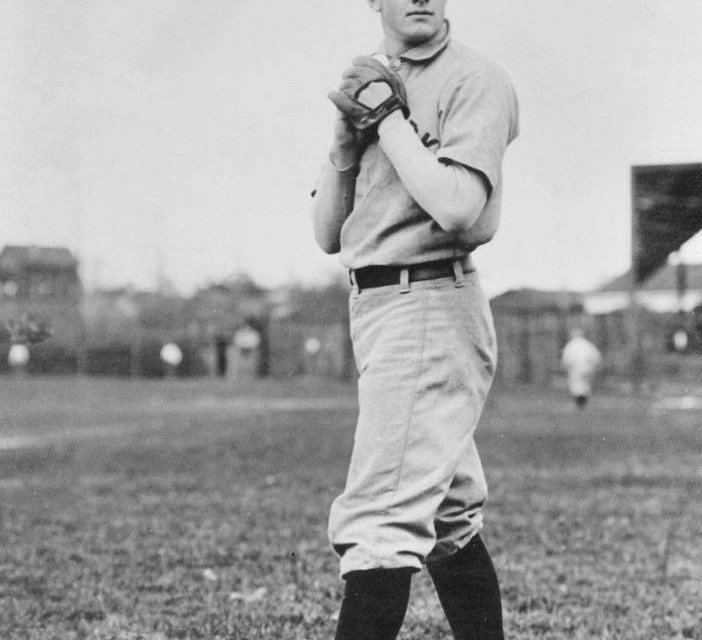 Christy Mathewson fashions a 3-hit shutout over the Cardinals and drives in the only run with a double. Ed Karger takes the hard-luck loss.