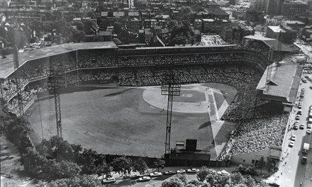 Forbes Field opens in Pittsburgh, PA with a sell-out crowd of 30,332 watching the first-place Pirates lose, 3 – 2, to the Cubs. Built at a cost of over $1 million, it is the most expensive ballpark built to this point and the first to feature amenities such as elevators and an underground parking garage for motorcars.