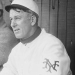 John McGraw puts 49-year-old coach Arlie Latham at 2B in a 19 - 3 romp over St. Louis. Latham goes hitless but handles 2 assists. Cy Seymour scores 5 runs.