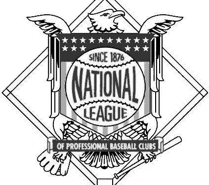Both major leagues adopt resolutions banning syndicate baseball, which allowed owners to have financial interests in more than one team. The National League votes for a 154-game schedule to open on April 12th, which the American League has already adopted. Other rules: umpires must announce all team changes to spectators; batting orders must be delivered to the umpire at home plate before the game; a batter is out if he crosses the plate from one batter's box to the other while the pitcher is in position to pitch; a baserunner is out if he passes another runner before the latter has been put out.