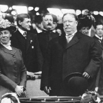 President William Howard Taft attends two games in one day