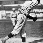 In Boston, Red Sox hurler Sea Lion Hall pitches a 7 - 1 one-hit win over Cleveland. Elmer Koestner's single is the only hit.