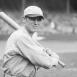 George Sislermakes his major league debut as apinch hitter