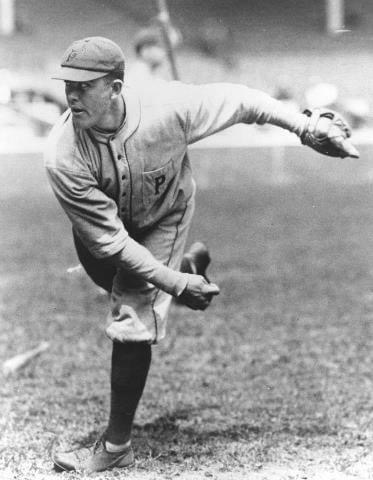 Babe Adams, the Pirates bellwether, pitches a one-hit 4 – 0 shutout against the Cardinals, the only safety coming when a ball squirts out of second baseman Joe Schultz's glove. Adams will win only one more game this season, and the Pirates will release him in August. They will then re-sign him during the 1918 season.