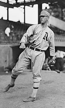 Philadelphia A's hurler Joe Bush no-hits the Indians, 5 – 0 and Nap Lajoie plays his last game