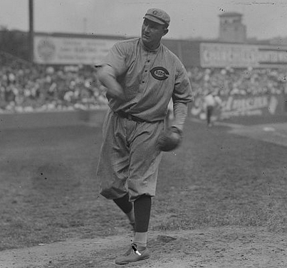 Fred Toney pitches 10 inning no hitter