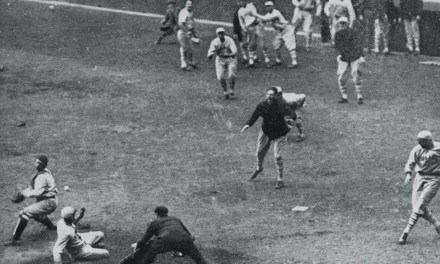 In the first postseason game ever played at Yankee Stadium, veteran Giants outfielder Casey Stengel becomes the first player to hit a World Series homer in the Bronx ballpark, breaking a 4-4 deadlock in the top of the ninth inning with an inside-the-park round-tripper off Joe Bush. The Game 1 matchup is the first Fall Classic contest to be broadcast nationally.