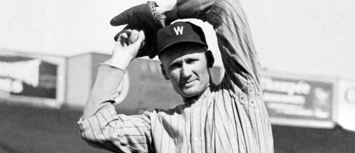 1924 – Walter Johnson hurls a seven-inning rain-shortened no-hitter against the Browns, winning by a score of 2 – 0.