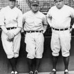 Bob Meusel, Babe Ruth, and Lou Gehrig hit successive homers in the 4th inning of Game One versus the A's, all off Dolly Gray. New York wins, 7 - 3. Then, Ruth and OF Ben Paschal hit back-to-back homers in the 4th inning of game 2, but New York loses, 5 - 4.