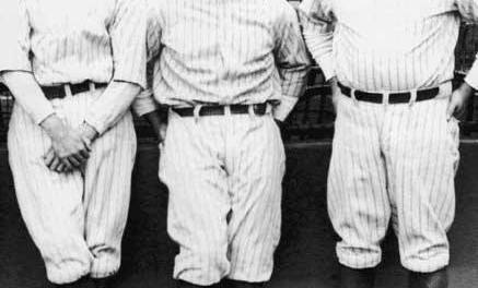 Bob Meusel,Babe Ruth, andLou Gehrighit successive homers in the 4th inning of Game One versus theA's, all offDolly Gray.New Yorkwins, 7 – 3. Then, Ruth and OFBen Paschalhit back-to-back homers in the 4th inning of game 2, but New York loses, 5 – 4.