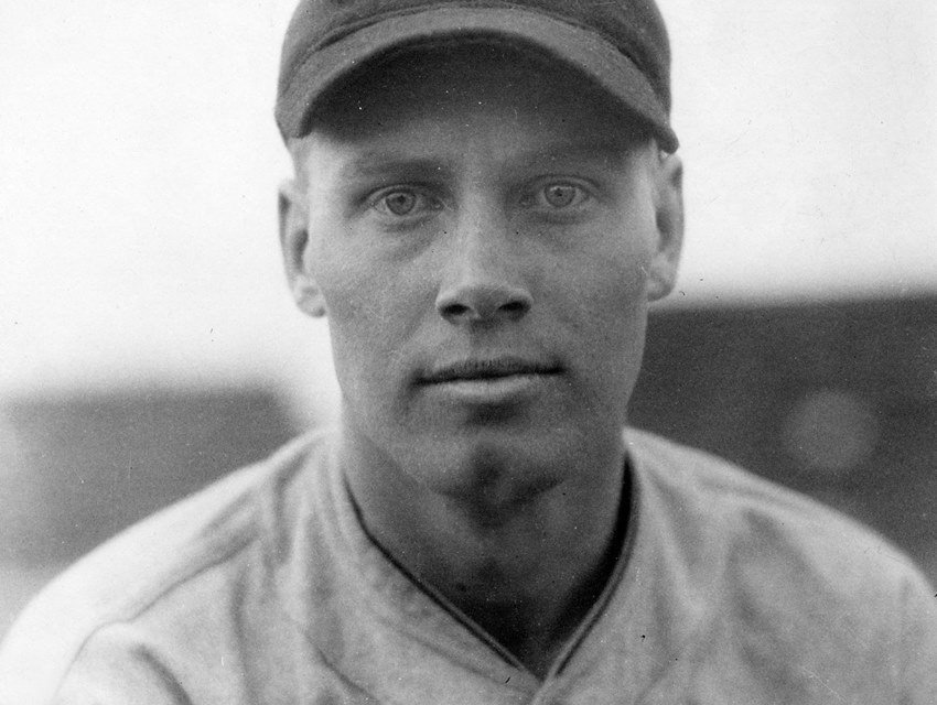 In the second of two games' Cleveland's Wes Ferrell tops the Browns' 9 – 5' for his 13th straight win. The Indians take the opener as well' winning 13 – 8' as pitcher Willis Hudlin helps with a grand slam off the Brownies' Dick Porter.