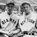 Carl Hubbell strikes out five consecutive future Hall of Famers