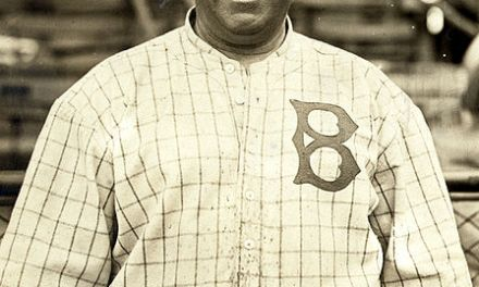 Brooklyn manager Wilbert Robinson brags that he could catch a ball dropped from an airplane at spring training
