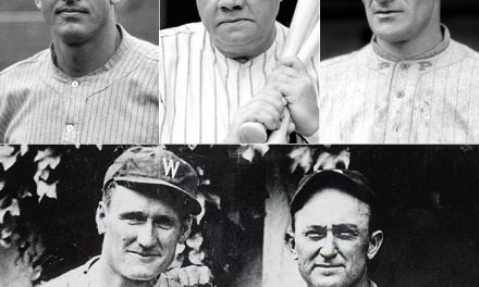 Baseball Writers' Association announces the results of the first Hall of Fame vote