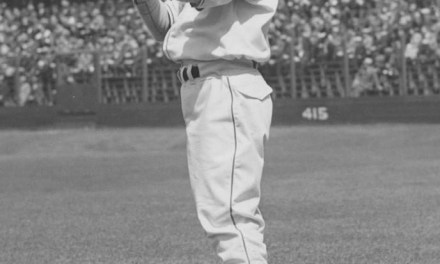 Cleveland's Bob Feller strikes out 16 Red Sox, one less than his own American League record, in an 8 – 1 victory.