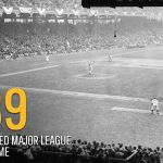 At Brooklyn's Ebbets Field, NBC televises the first major league game in history on experimental station W2XBS