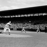 Ted Williams pitching