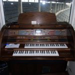 Chicago Cubs become the first major league team to install an organ in their home ballpark