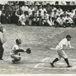Walter Johnsonpitching toBabe Ruthis the pregame attraction that draws 69,000  atYankee Stadium