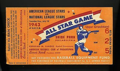 American and National leagues play the first night All-Star Game