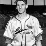 1944-  OfficialNational Leaguestatisticspublished today showBrooklyn'sDixie Walkerat the top of the hitters with a .357batting average, ahead ofStan Musialat .347. In an even closer vote than occurred in theAmerican League, theNational League Most Valuable Player Awardgoes to fielding wizard shortstopMarty Marionof theCardinals, who tallies one more vote thanCubssluggerBill Nicholson(189). The Cardinals committed only 112errorsand fielded .982, both better than previous records held by the1940 Cincinnati Reds. Marion is the third different Cardinals player in three years to win MVP honors.
