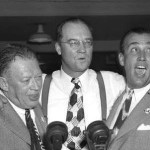 Larry MacPhail, Dan Topping and Del Webb purchase the New York Yankees for $2.8 million from the heirs of previous owner Jacob Ruppert. The new owners announce that Ed Barrow will remain in place as general manager, but a month later they will install MacPhail as GM.