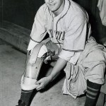 Bert Shepard, a one-legged veteran of thewar, tries out as a pitcher for theWashington Senators. The symbol of wartime baseball, outfielderPete Grayof theSt. Louis Browns, will field and bat with only one arm.