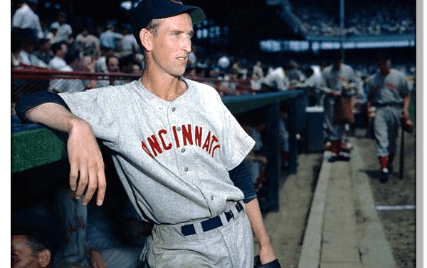 """Cincinnati Reds hurler Ewell """"The Whip"""" Blackwell comes within two outs of pitching his second straight no-hitter"""