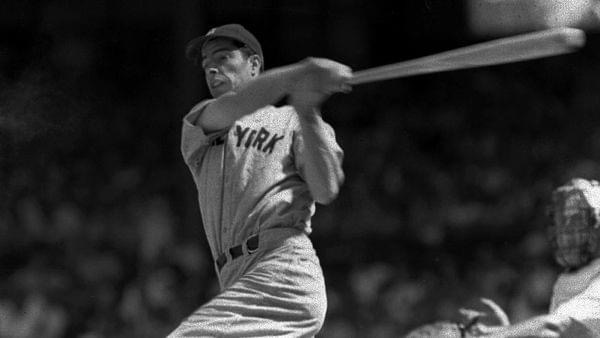 Joe DiMaggio of the New York Yankees hits for the cycle and collects six RBI in a 13 – 2 victory over the Chicago White Sox. DiMaggio hits two home runs, a triple, a double and a single, and narrowly misses another extra-base hit when Chicago left fielder Ralph Hodgin makes a spectacular catch at the wall.