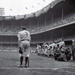 Ailing Babe Ruth makes his final appearance at Yankee Stadium