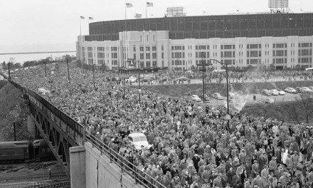 The largest crowd ever to attend a World Series game, 86,288 fans, jam into Cleveland's Municipal Stadium to witness a showdown between two future Hall of Famers. Braves' southpaw Warren Spahn beats Bob Feller and the Indians in Game 5 of the Fall Classic, 11-5.