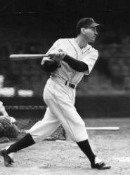 "Detroit Tigers hold ""Charlie Gehringer Day"" at Briggs Stadium"